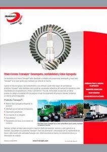 Catalogo Piñón Corona Transejes®